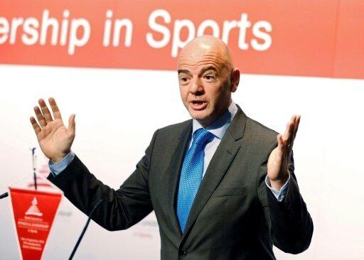 Gianni Infantino spricht über Expansionspläne