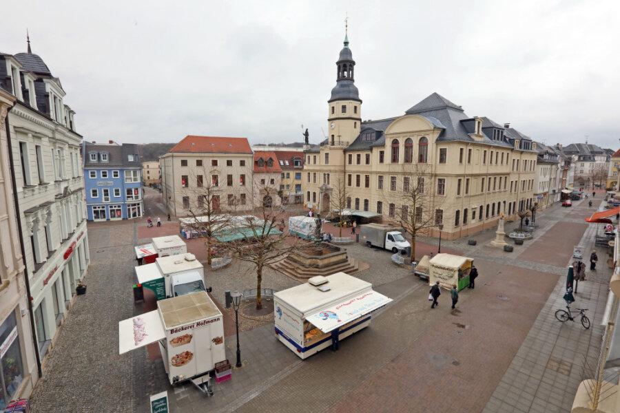 Der Wochenmarkt in Crimmitschau wird am heutigen 1. April stattfinden dürfen.