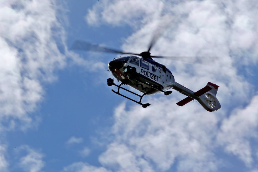 Nächtlicher Hubschrauberlärm über Chemnitz