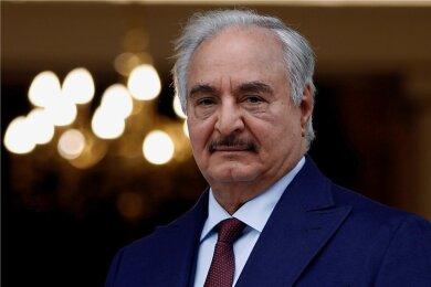 Khalifa Haftar - Rebellengeneral