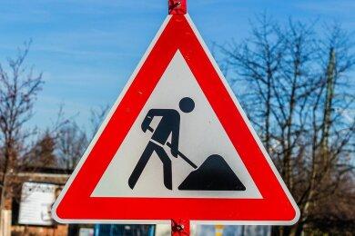 Die Bauarbeiten in Bad Elster gehen zügig voran.