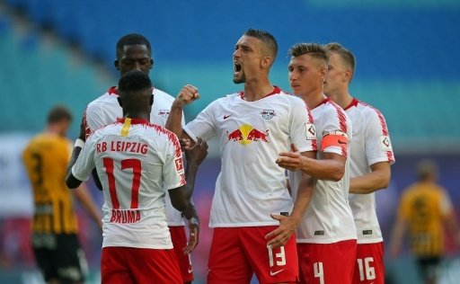 RB Leipzig steht in der nächsten Runde des DFB-Pokals