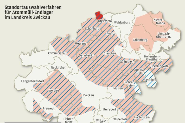 Endlagersuche für deutschen Atommüll: Callenberg reagiert