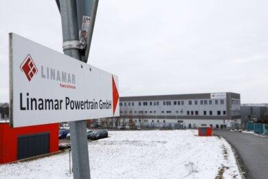 Das Linamar-Werk befindet sich im Gewerbegebiet in Crimmitschau. Hier arbeiten rund 730 Mitarbeiter.