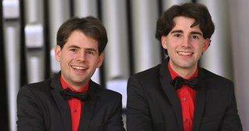 Die Organisten Markus und Pascal Kaufmann.