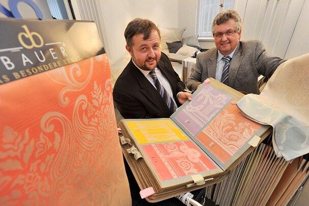 Gert (links) und Michael Bauer haben die Firma Curt Bauer international etabliert.