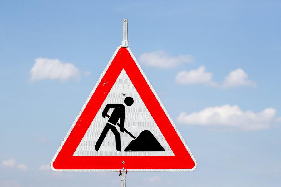 Umleitung entfällt - Bauarbeiten an S 255 in Aue verschoben