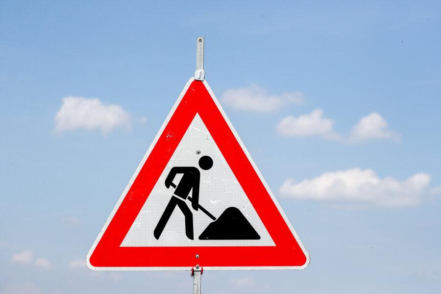 Auf diesen Straßen in Zwickau wird gebaut