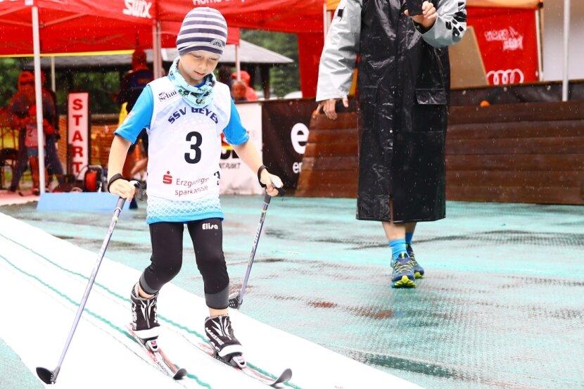 Erik Hiemann (Pulsschlag Neuhausen) war mit 5 Jahren jüngster Teilnehmer.