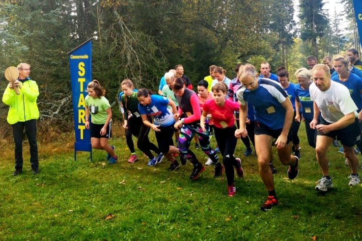 Fast 100 Läufer sind im vorigen Jahr zum Waldparklauf in Cämmerswalde gestartet.
