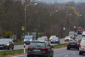 Den Südring zwischen Stollberger und Helbersdorfer Straße: Hier gilt bald Tempo 50.