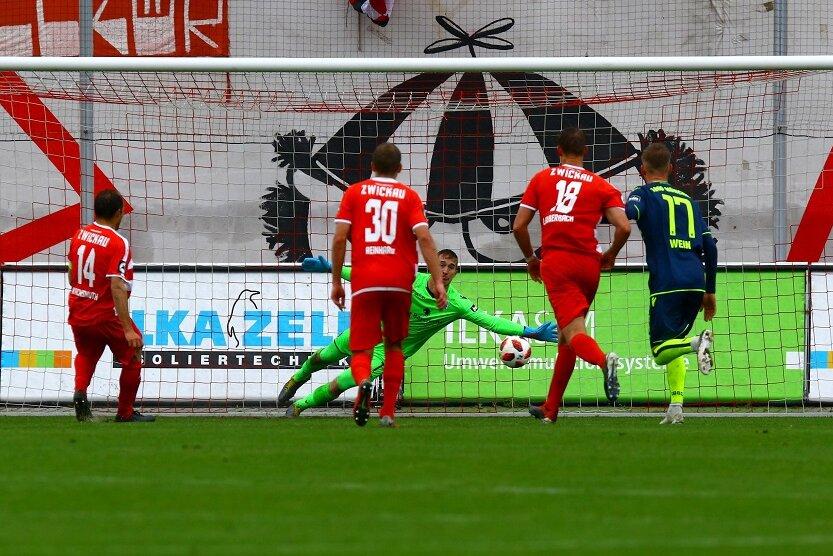 Klassenerhalt gesichert: FSV Zwickau mit Torfestival gegen 1860 München