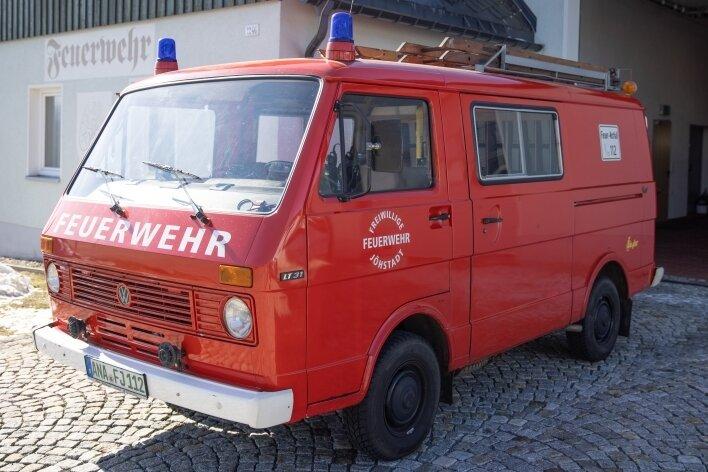 Diesen VW LT aus dem Jahr 1981 würden die Jöhstädter Feuerwehrleute gern ersetzen.