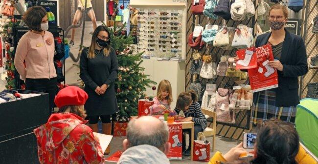 Der Startschuss für die in diesem Jahr etwas andere Nikolausstiefel-Aktion ist gefallen.