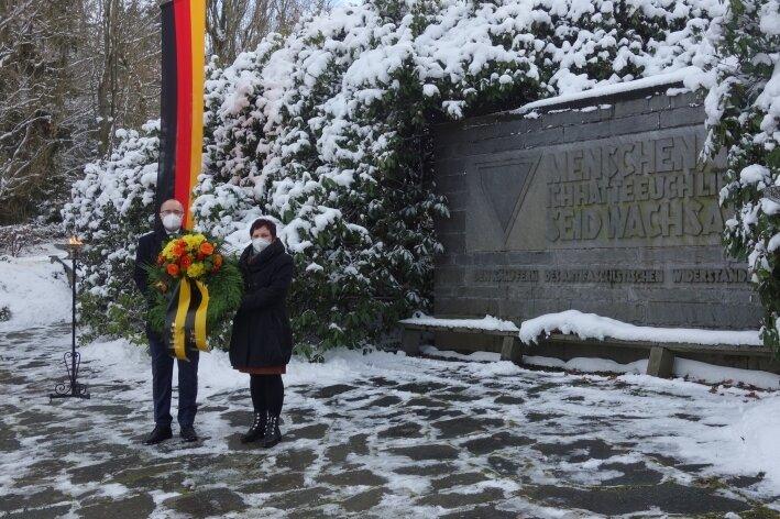 Plauen erinnert an NS-Opfer