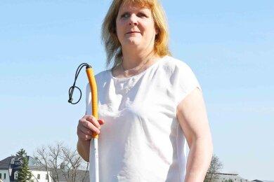 Christine Kanetzki ist blind. Sie wurde als taktile Untersucherin ausgebildet und ist ab Februar auch in Reichenbach tätig.