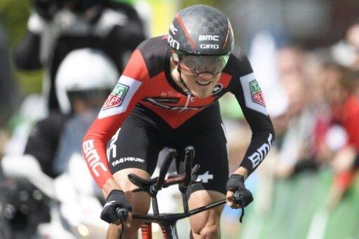 Sieger beim Zeitfahren: Tejay Van Garderen