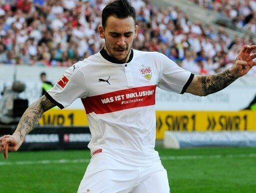 Anastasios Donis war Stuttgarts Matchwinner