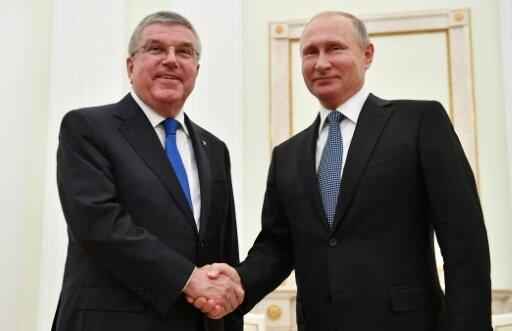 Dopingskandal: Putin und Bach wollen im Dialog bleiben