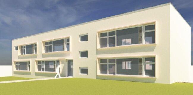 Der Erweiterungsbau für die Oberschule Halsbrücke soll 2021 noch einmal mit 200.000 Euro für das Außengelände und 40.000 Euro für Ausstattung und Ausrüstung zu Buche schlagen.