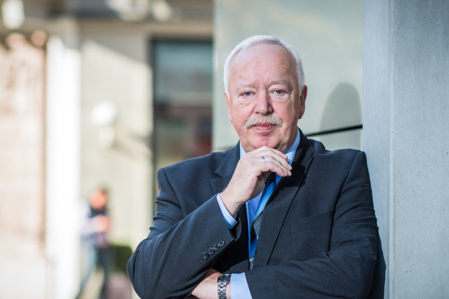 Hat die Volksbank Chemnitz zum größten genossenschaftlichen Kreditinstitut in Sachsen gemacht: Vorstandschef Wolfgang Müller.