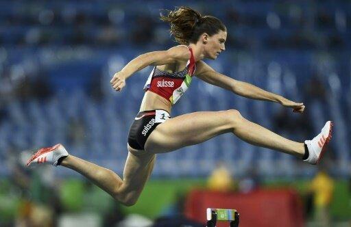 400 m Hürden: Lea Sprunger gewinnt die Goldmedaille