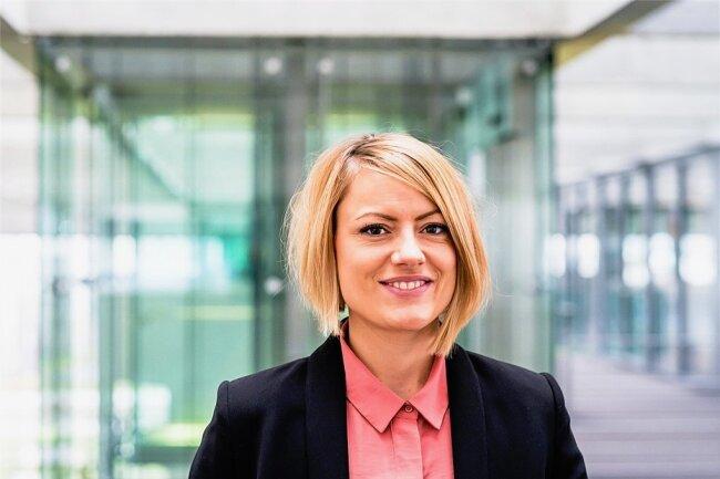 Kandidatin der Linken für den Wahlkreis 164