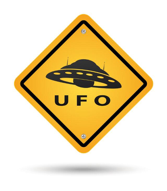 Ufo-Sichtung in Freiberg: Ein junges Paar hat ein unbekanntes Flugobjekt gesehen.