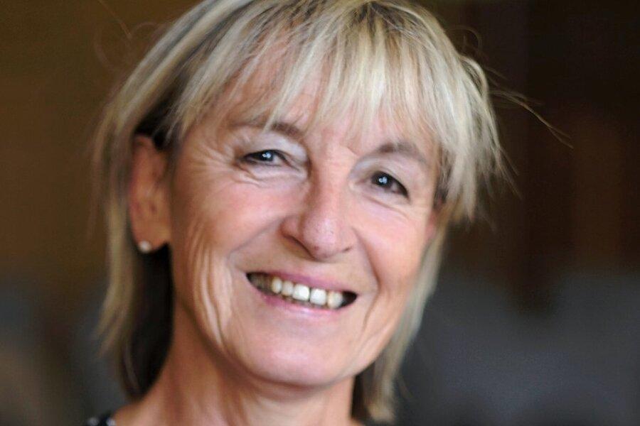 Viola Haubenreißer, scheidende Geschäftsführerin des AZV Reichenbacher Land.