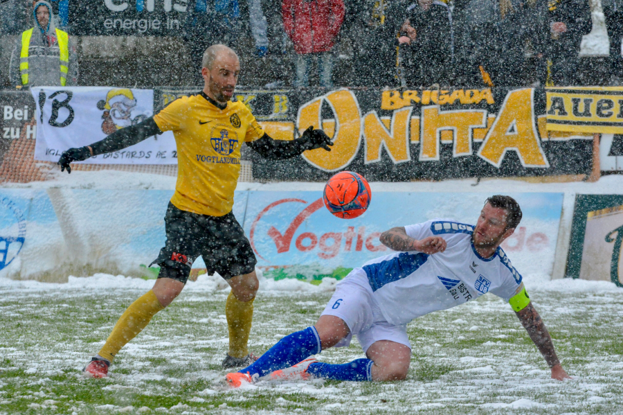 VfB Auerbach besiegt Bischofswerdaer FV 4:0