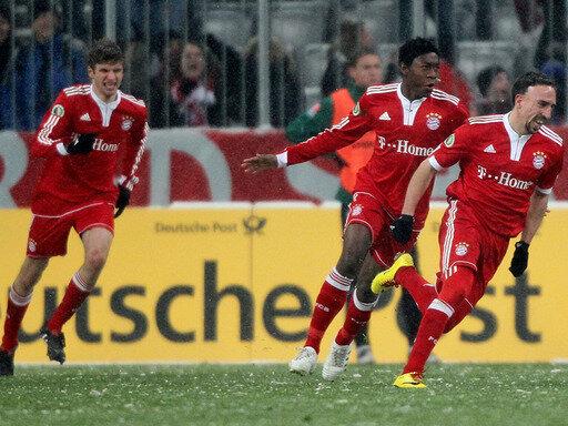 Erfolgreiches Comeback für Franck Ribery (r.)