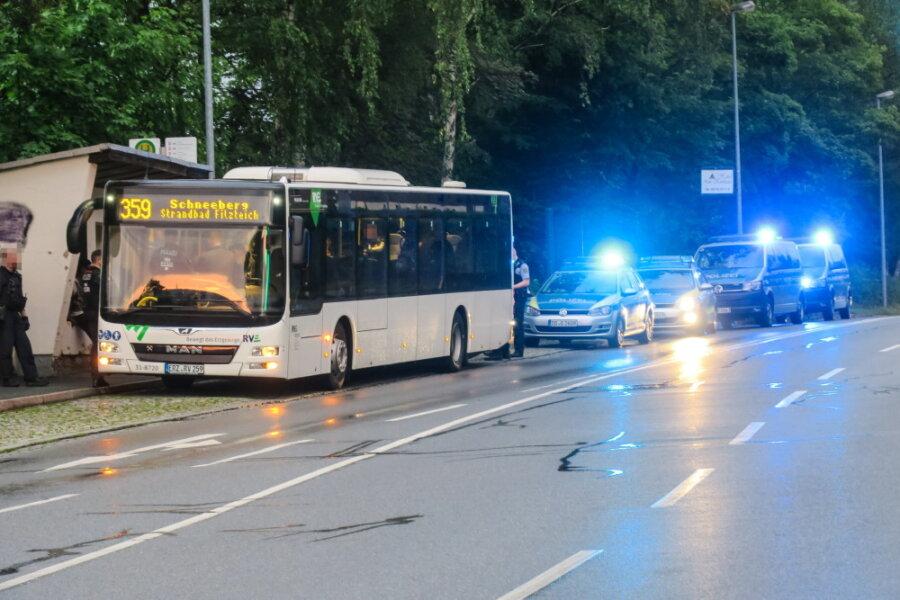 Angriff auf Somalier in Linienbus: Ermittlungen gegen Polizeibeamten