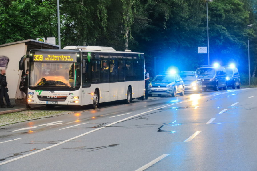 Asylbewerber in Linienbus angegriffen