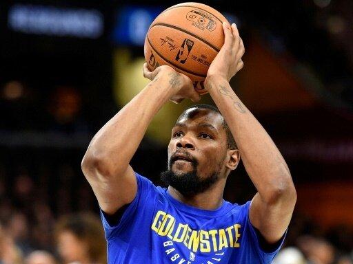 Kevin Durant verlängert bei den Warriors um zwei Jahre