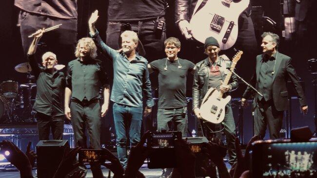 Vor allem mit ihren Hits aus den 80-er Jahren kamen die Norweger an.