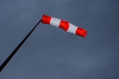 Warnung vor Orkanböen in Teilen Sachsens