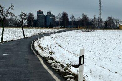 Die Agrargenossenschaft Grünlichtenberg, hier ein Blick auf den Betriebsstandort in Reichenbach, will in dem Ortsteil bauen.