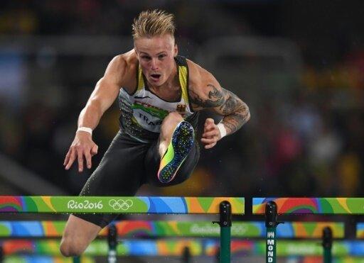 110 m Hürden: Gregor Traber wird Fünfter
