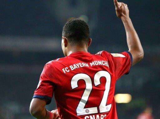 Bayerns Serge Gnabry traf doppelt gegen Werder Bremen