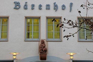 """Im Vorgängerbau des heutigen """"Bärenhofs"""" in Zwickau kam es 1938 zu einer kaltherzig geplanten Tat."""