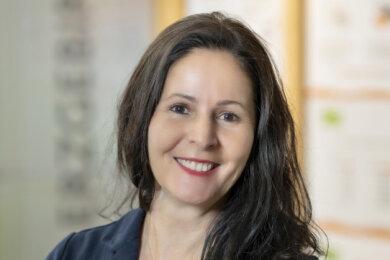 Peggy Kreller vom Regionalmanagement Erzgebirge.