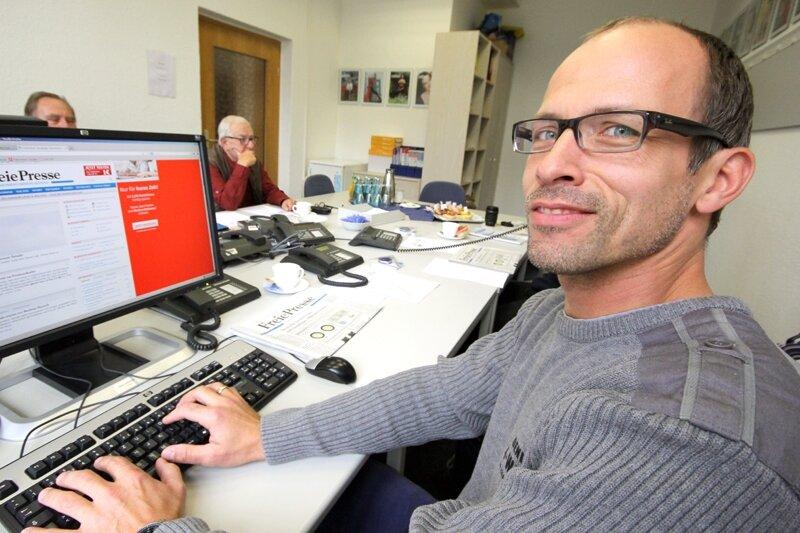 Dr. Mike Junghanns, Urologe in Zwickau, stand Rede und Antwort.