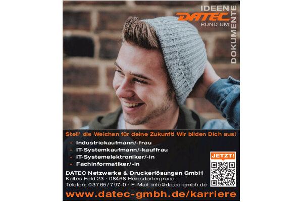 Anzeige: DATEC Netzwerke & Druckerlösungen GmbH