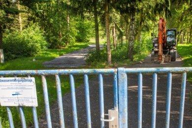 Auf dem Gelände der ehemaligen Kläranlage in der Talstraße in Flöha sollen zwei Einfamilienhäuser entstehen. Der Zweckverband verkauft ein Teilstück seines Areals.