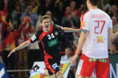 Deutsche Handballer im EM-Halbfinale: Sieg gegen Dänemark