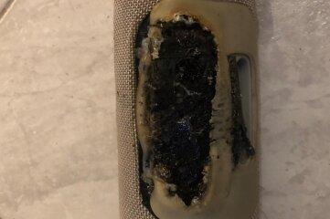 Verbrannte Box in Thum