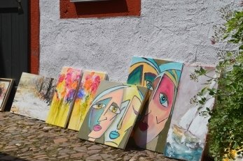 Kunstmarkt auf der Rochsburg