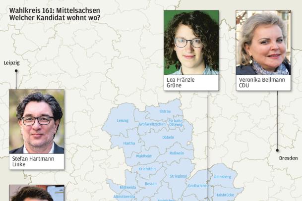 Parteien bringen Kandidaten für Bundestagswahl in Stellung