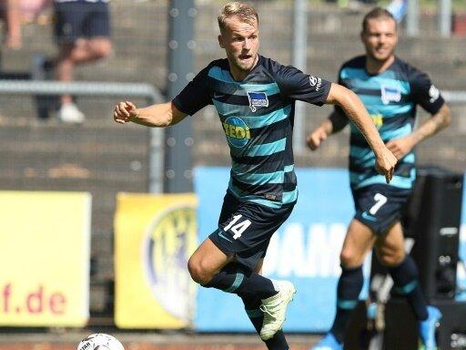 Pascal Köpke erzielte das Tor für die Berliner