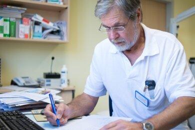HNO-Arzt Dr. med. Peter Oboril tritt seinen Ruhestand an.
